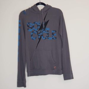 Free City Soul Cycle lightweight zipped hoodie